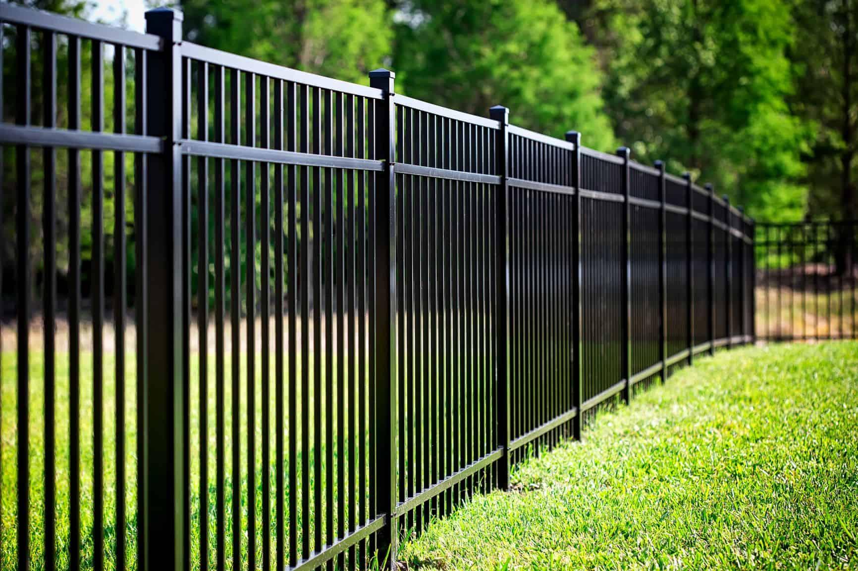 Aluminum fence Elk Grove