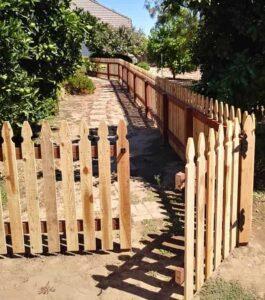 picket fence Bates Fencing, Elk Grove