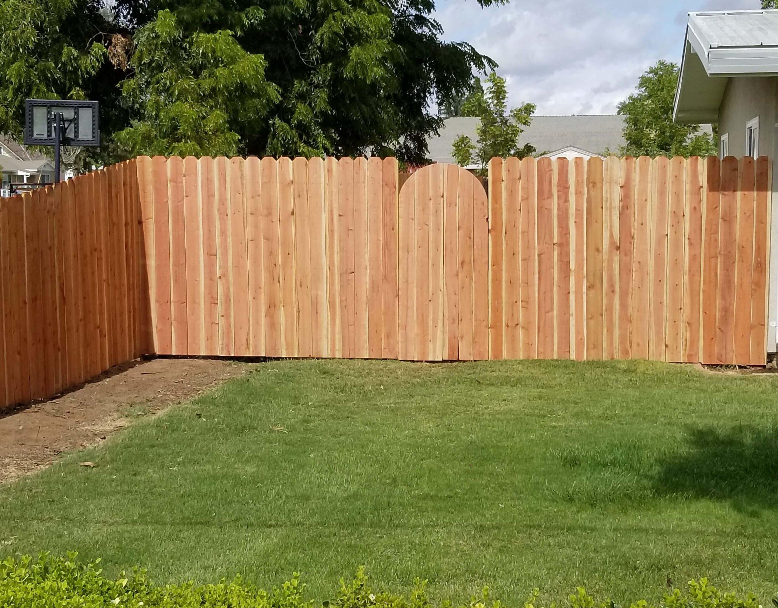 wood privacy fencing installation Bates Fencing, Elk Grove